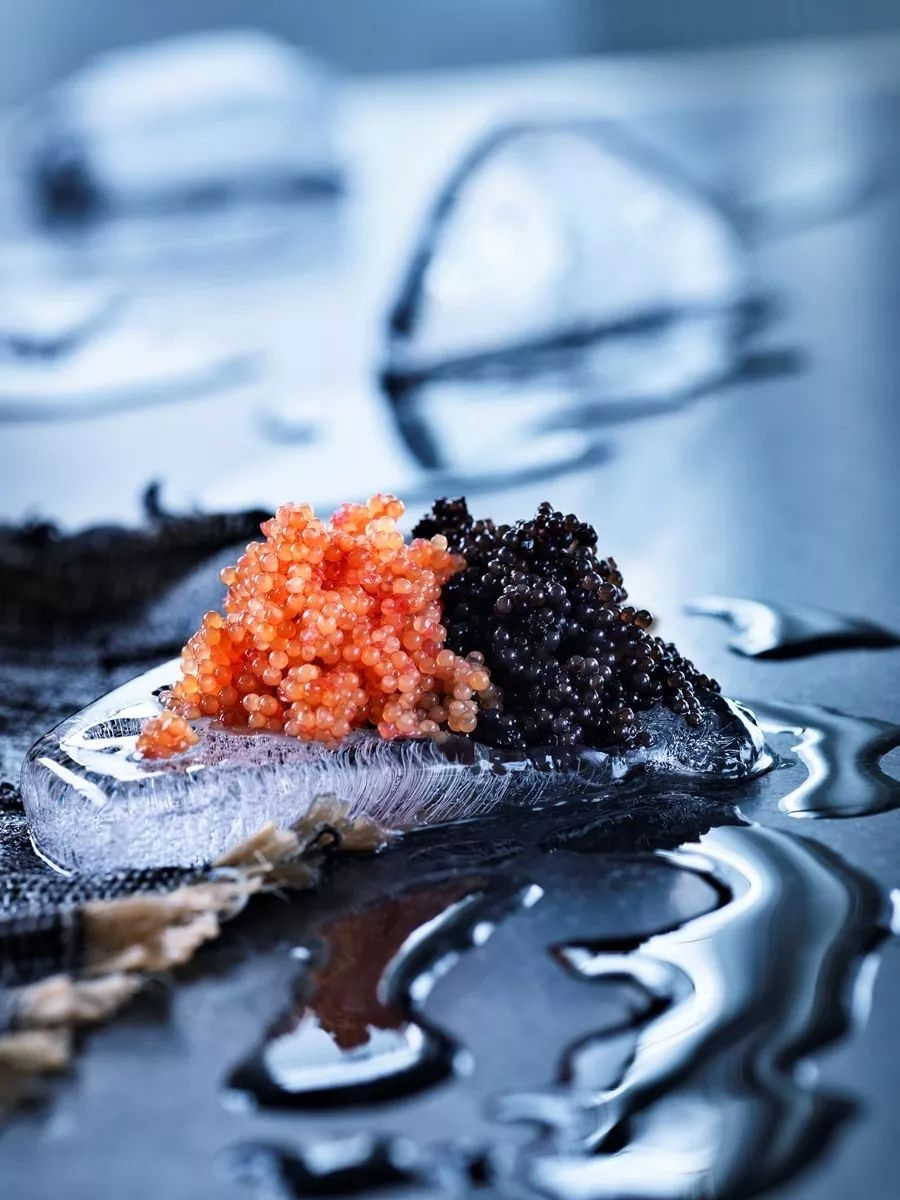 Caviar is the most popular way to eat